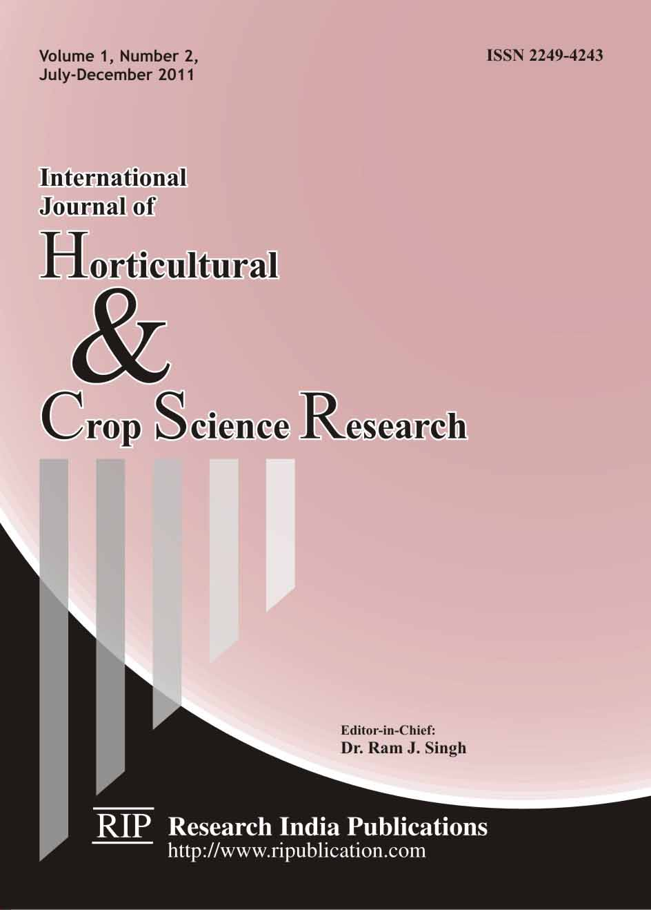 horticulture research papers