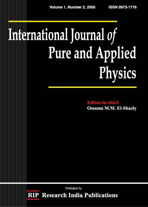 IJPAP, International Journal of Pure and Applied Physics, Physics ...