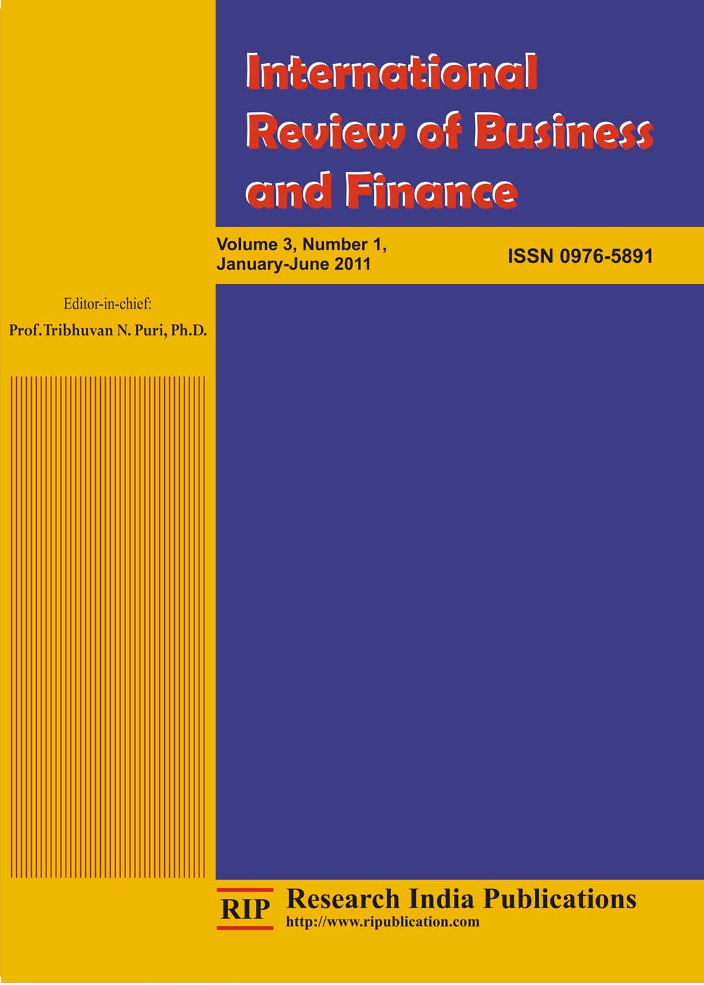 International Review of Finance - Wiley Online Library