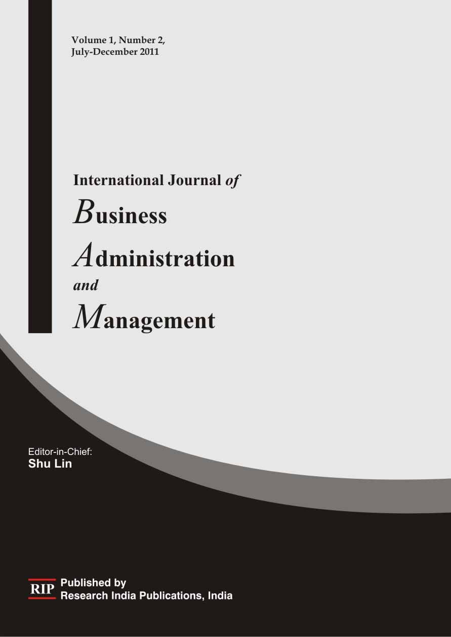 ijbam international journal of business administration and ijbam international journal of business administration and management materials science journals journals publishers computer science journals in
