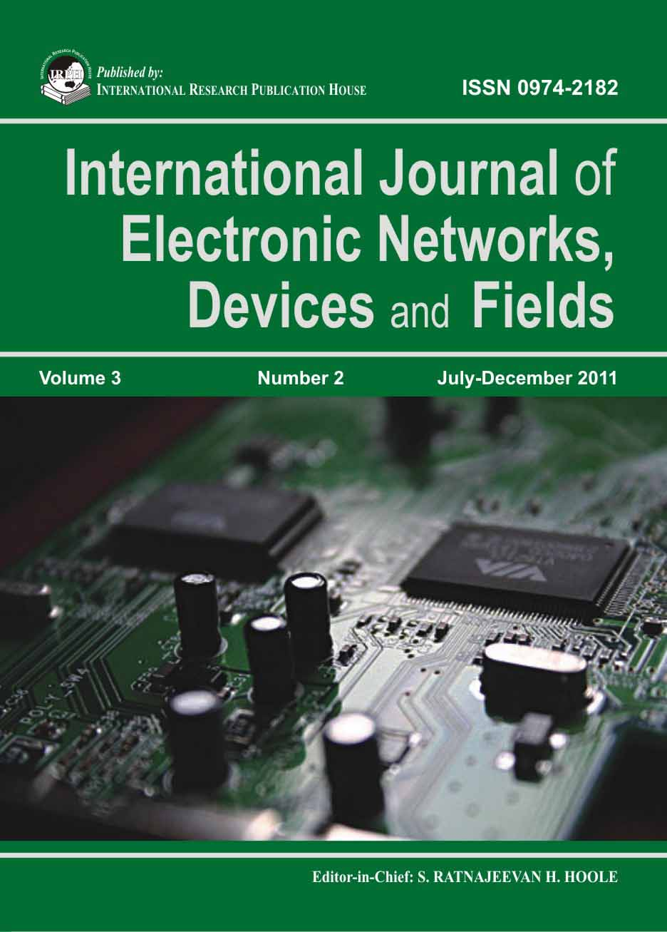 ijendf, international journal of electronic networks, devices and fieldselectrical and computer engineering department
