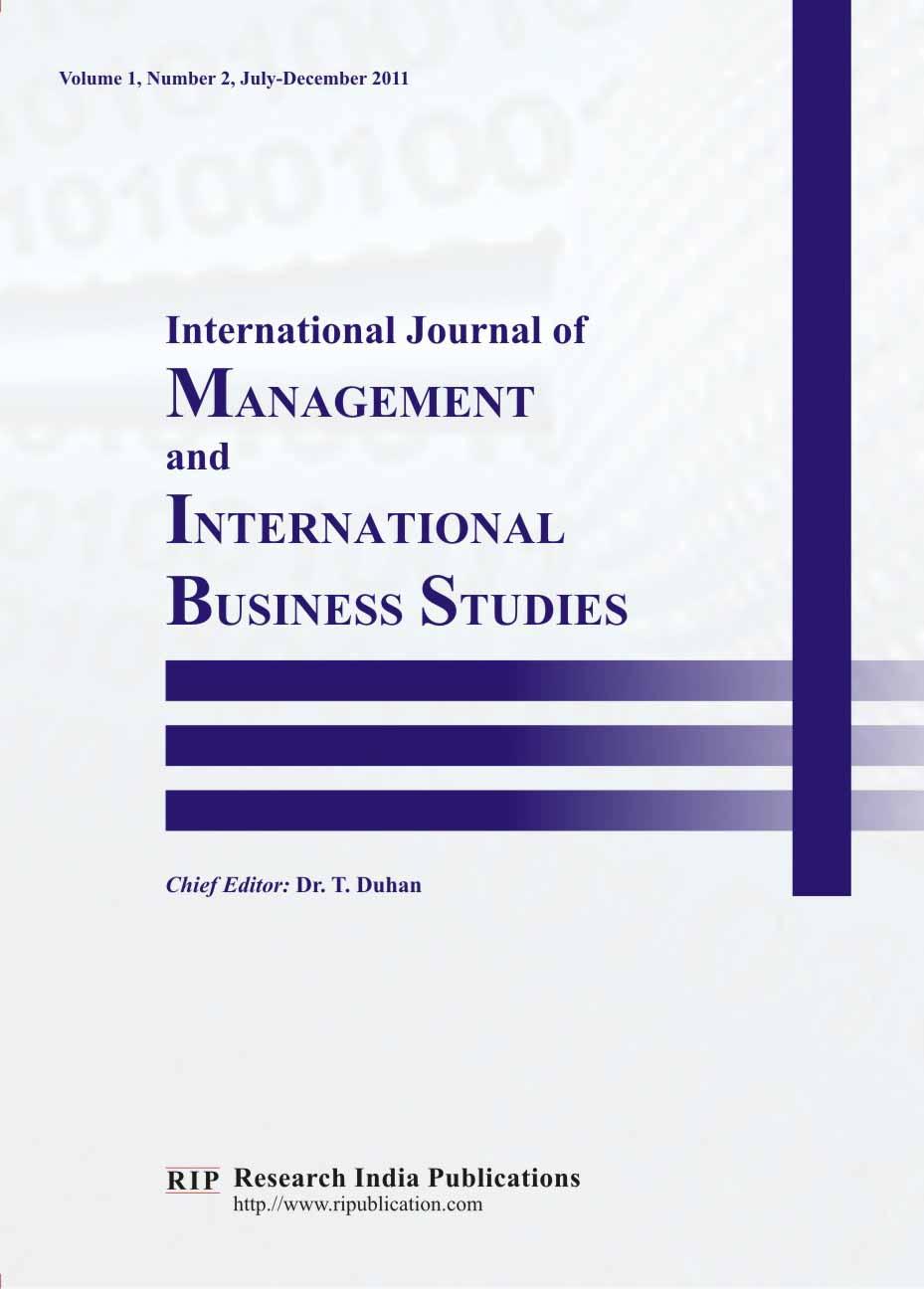 IJMIBS, International Journal of Management and International