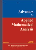 AAMA, Advances in Applied Mathematical Analysis