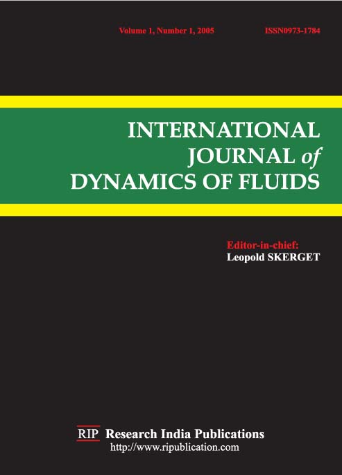 IJDF, International Journal of Dynamics of Fluids, Fluid Dynamic