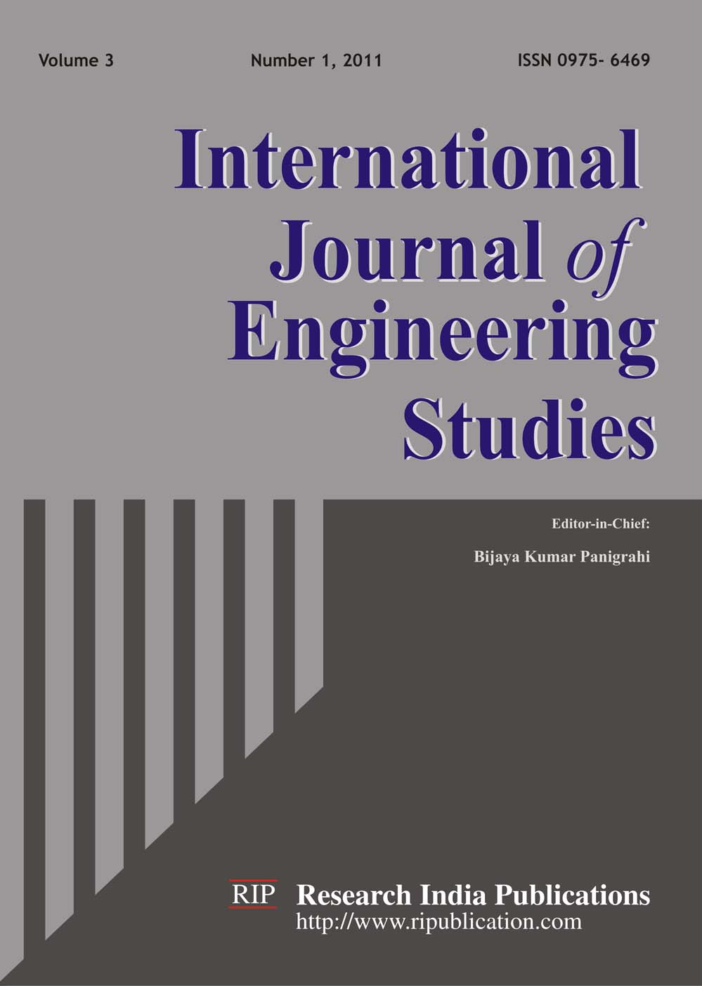 Ijes International Journal Of Engineering Studies